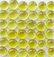 黄色玻璃珠